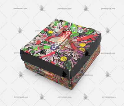 جعبه برگر چاپ اختصاصی مدل سفره ای