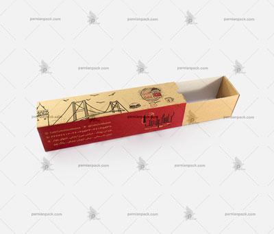 جعبه ساندویچ کرافت کشویی5