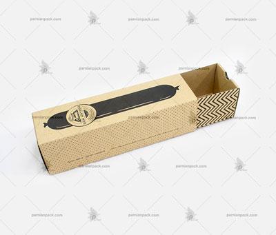 جعبه ساندویچ کرافت کشویی2