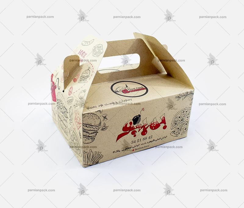 جعبه همبرگر و سوخاری