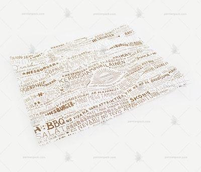 کاغذ مومی کف سینی