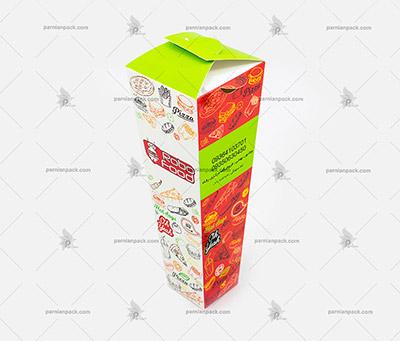جعبه پیتزا قیفی