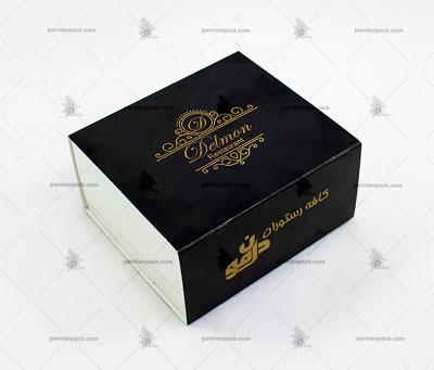 جعبه طلاکوب مشکی