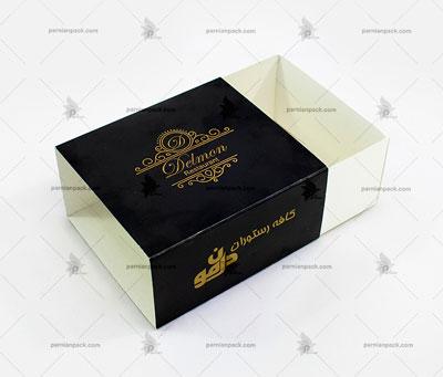 جعبه طلاکوب کشویی