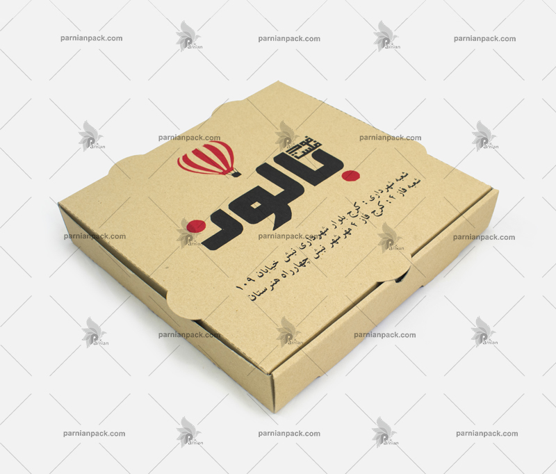 جعبه پیتزا بالون
